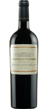 2011 MONTICELLO VINEYARDS Jefferson Cuvee Cabernet Sauvignon 750mL