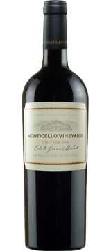 2009 MONTICELLO VINEYARDS Estate Grown Merlot