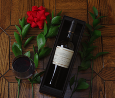 Black Linen Gift Box - 1 Bottle