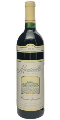 1988 MONTICELLO VINEYARDS Jefferson Cuvee Cabernet Sauvignon