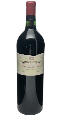 1992 MONTICELLO VINEYARDS Jefferson Cuvee Cabernet Sauvignon