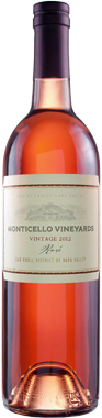 2012 MONTICELLO VINEYARDS Rosé of Syrah 750ml