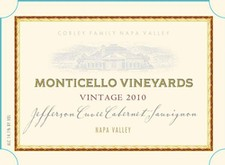 1980 MONTICELLO VINEYARDS Cabernet Sauvignon