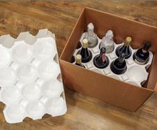 Twelve Bottle Shipping Box with Styrofoam