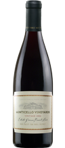 2011 MONTICELLO VINEYARDS Estate Grown Pinot Noir 750ml
