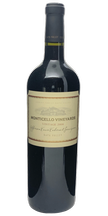 2008 MONTICELLO VINEYARDS Jefferson Cuvee Cabernet Sauvignon